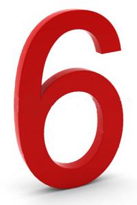 Número Seis, el equilibrio, la familia, los sentimientos y